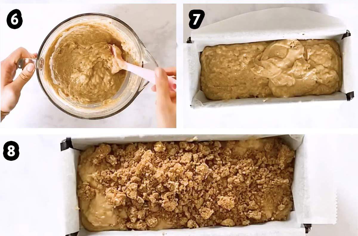Bildanleitung um Bananenbrot-Teig zuzubereiten