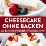 Cheesecake ohne Backen Pin