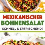 Mexikanischer Bohnensalat Bild Pin