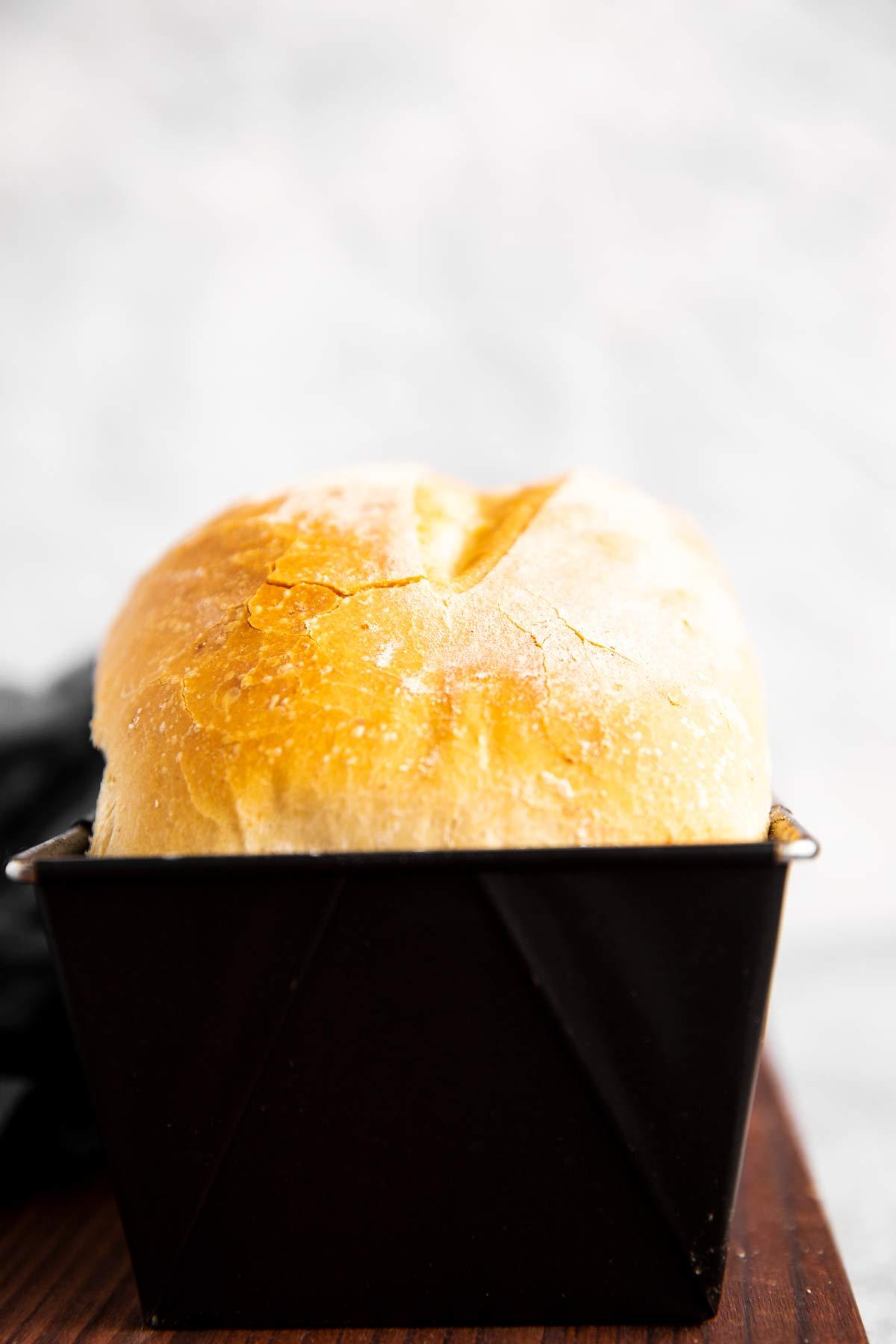 Brot in Kastenform von Vorne