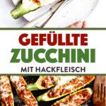 Gefüllte Zucchini Bild Pin