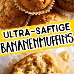 Bananenmuffins Pin 1